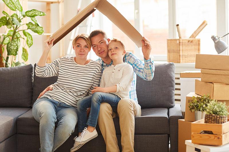 Familie, Haus, Versicherung